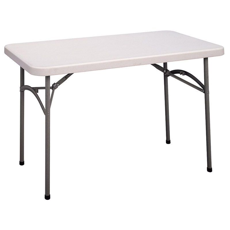 Cosco 4 39 blow molded folding table 14148wsp1 folding for 10 foot folding table