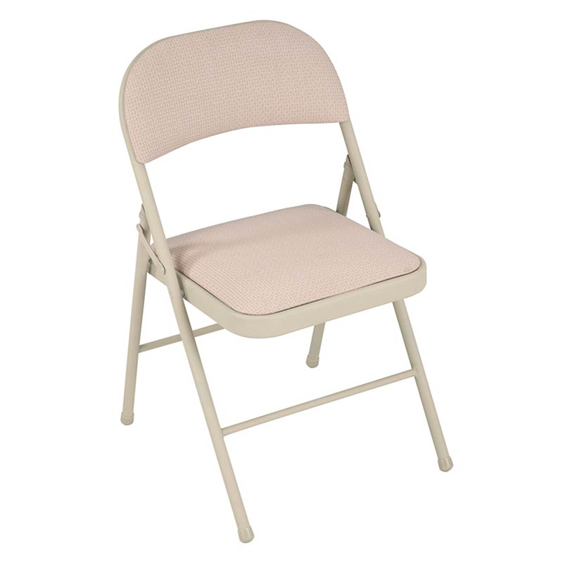 Cosco Home and fice Steel Padded Folding Chair Set of 4 Sand Color 149