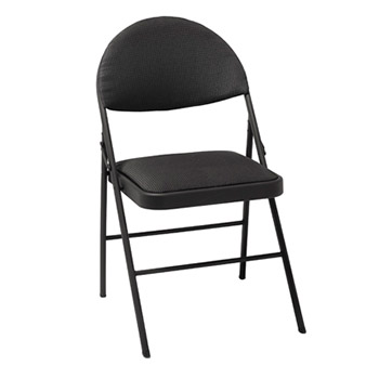 Folding Chairs on Folding Comfort Chair   Set Of 4   Black Color  37975tue4    Folding