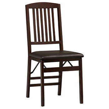 Triena Wood Mission Back Folding Chair LIN-01825ESP-02-AS-U