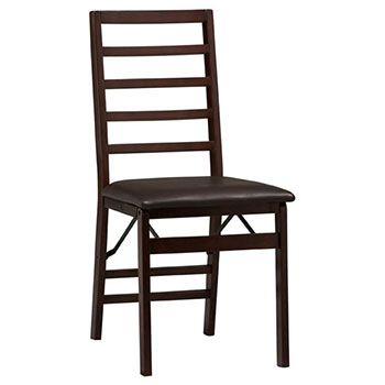 Triena Ladder Back Wood Folding Chair LIN-01827ESP-02-AS-U