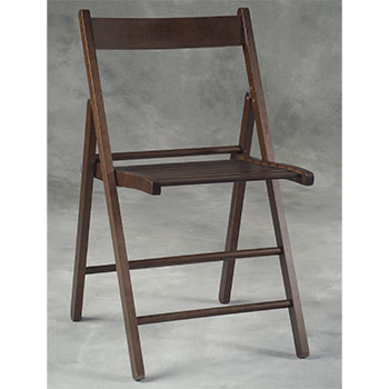 Wood Folding Slat Back Chair LIN-041WENG-04-AS