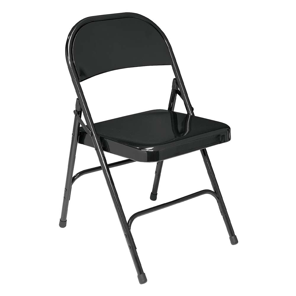 National Public Seating 50 Series Standard Steel Folding Chair - Set of 4 - Black Color  sc 1 st  Folding Chair Depot & National Public Seating 50 Series Standard Steel Folding Chair - Set ...