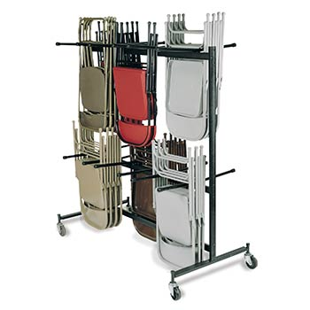 National Public Seating Model 84 Double-Tier Hanging Folding Chair Truck NPS-84