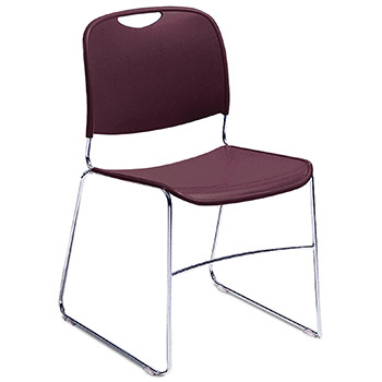 National Public Seating 8500 Series High-Tech Ultra-Compact Stack Chair NPS-8500-SERIES