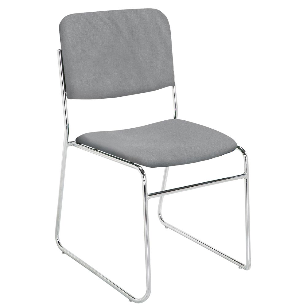Lightweight stackable chairs - National Public Seating Lightweight Fabric Padded Stack Chair Set Of 2 Nps 8600
