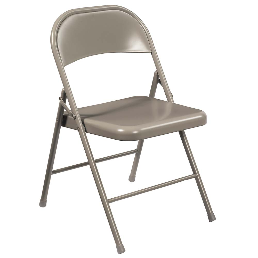 National Public Seating 900 Series Commercialine Steel Folding Chair   Set  Of 4 NPS 900