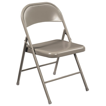 National Public Seating 900 Series Commercialine Steel Folding Chair - Set of 4 NPS-900-SERIES