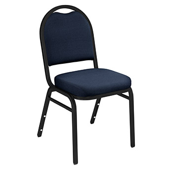 National Public Seating 9200 Series Dome Back Banquet Fabric Stack Chair - Set of 2 NPS-9200-SERIES-VINYL