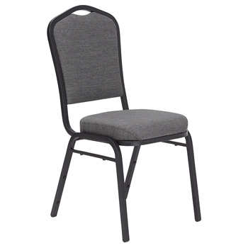 National Public Seating 9300 Series Silhouette Banquet Fabric Stack Chair - Set of 2 NPS-9300-SERIES-FABRIC