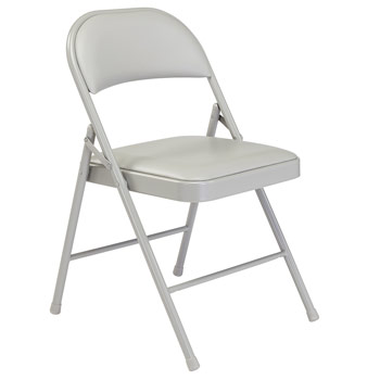 National Public Seating 900 Series Premium Vinyl Folding Chair - Set of 4 - NPS-900-SERIES NPS-950-SERIES