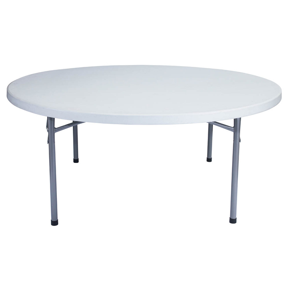 national public seating bt3000 series round lightweight blow molded plastic folding table bt71r. Black Bedroom Furniture Sets. Home Design Ideas