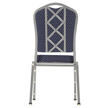 National Public Seating DB-BX-SV Designer Back for 9300 Series Stack Chairs NPS-DB-BX
