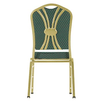 National Public Seating DB-RND-G Round Style Designer Back for 9300 Series Stack Chairs NPS-DB-RND