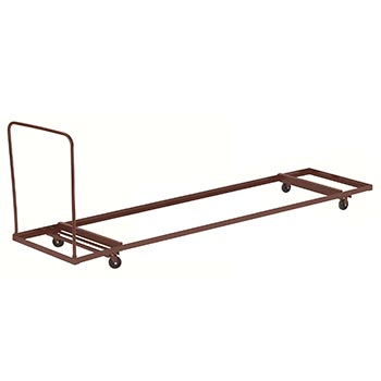 "National Public Seating Model DY-3096 Folding Table Truck for 96"" Folding Tables - Flat Stacking NPS-DY-3096"