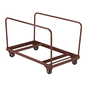 Terrific National Public Seating Standing Round Folding Table Truck Download Free Architecture Designs Grimeyleaguecom