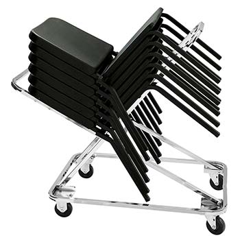National Public Seating DY-82 Stack Chair Dolly for 8200 Series Stack Chairs NPS-DY-82