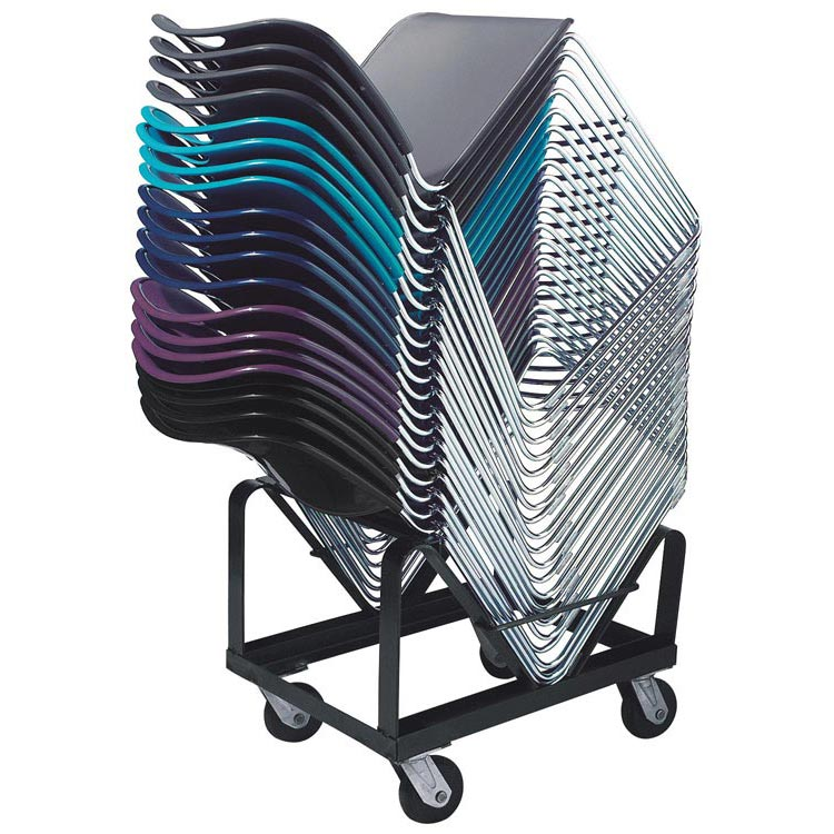 national public seating dy 85 stack chair dolly for 8500 series stack chairs - National Public Seating