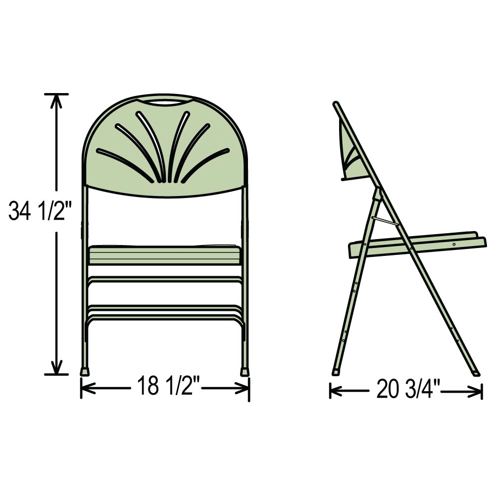 Super National Public Seating 1100 Series Polyfold Fan Back Ibusinesslaw Wood Chair Design Ideas Ibusinesslaworg