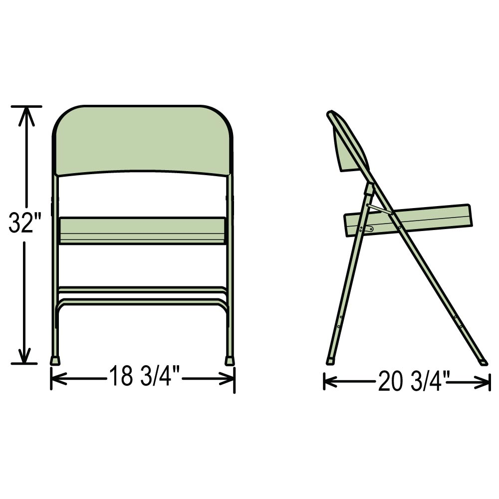 vinyl folding chairs. Dimensions For 3200 Series Folding Chairs Vinyl 6