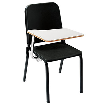 National Public Seating Melody Stack Chair - Black NPS-8210
