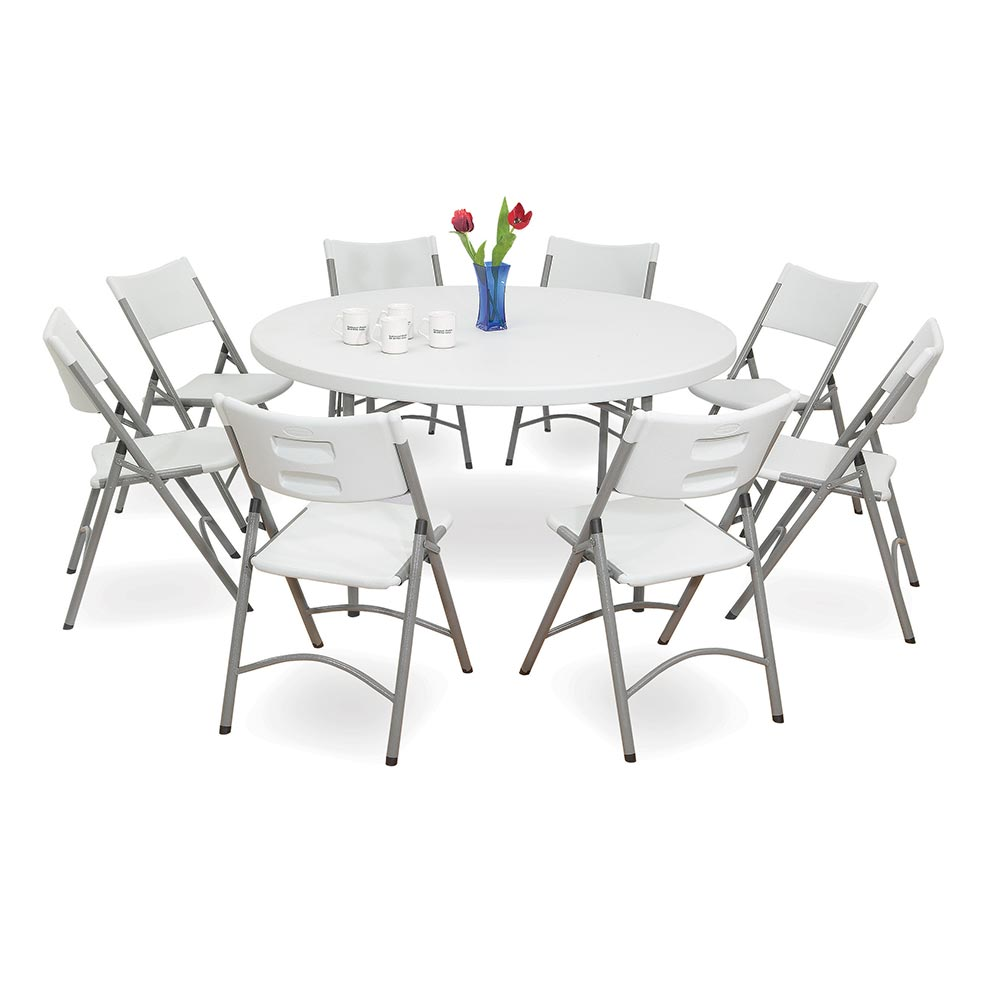 ... The National Public Seating BT 60R Plastic Folding Table Matches Our  602, 604, ...