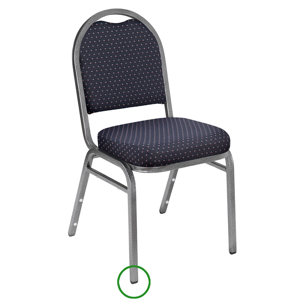 National Public Seating GL92 Stacking Chair Floor Glide For 9200 Series Stack