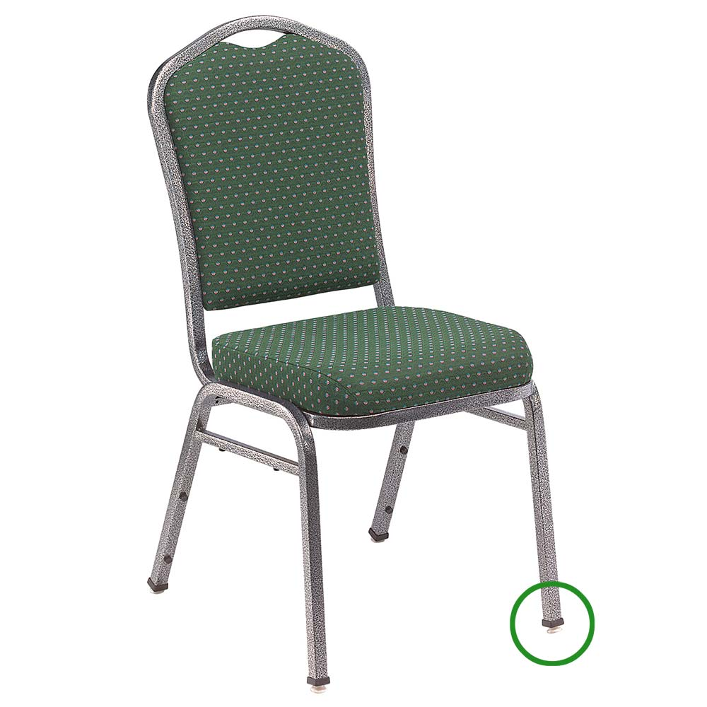 National Public Seating GL93 Stacking Chair Floor Glide For 9300 Series Stack